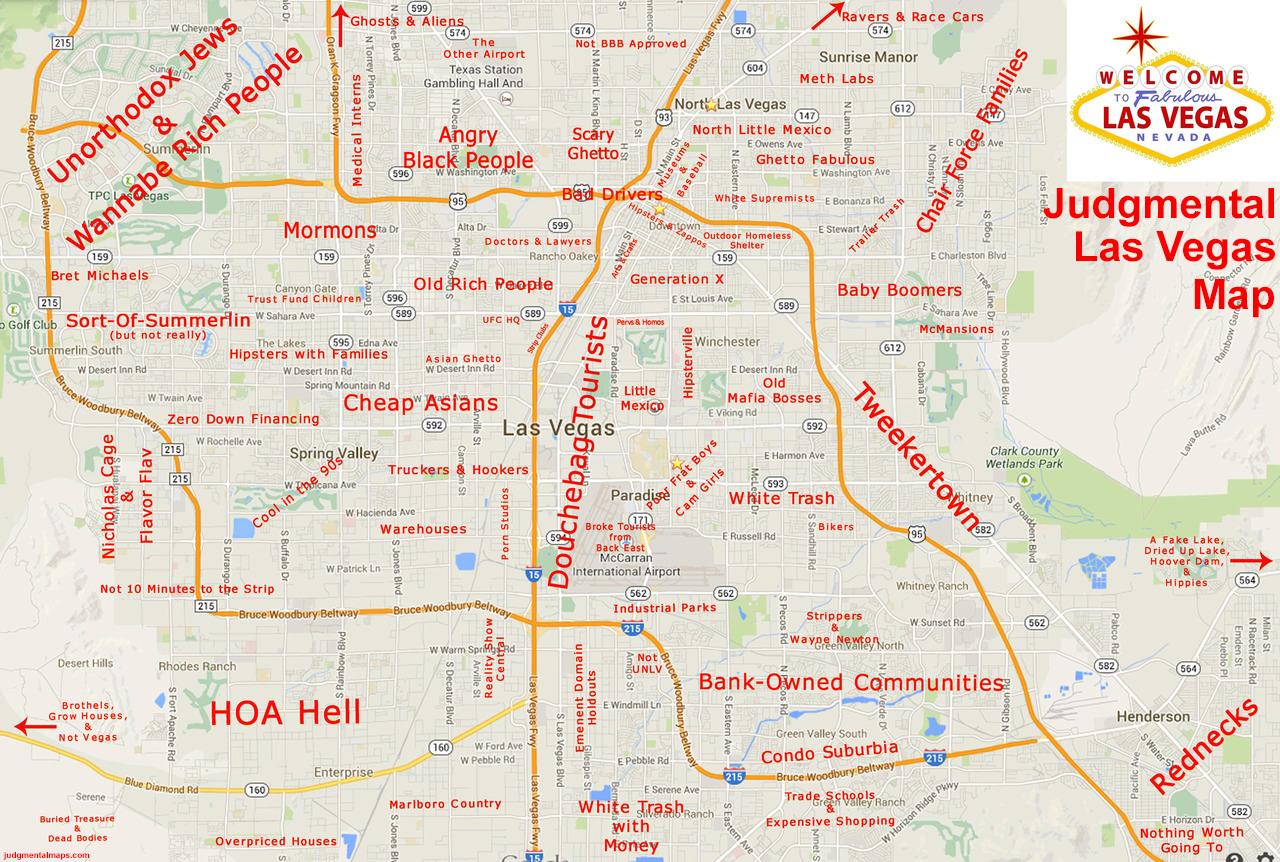 Judgemental Map Of Houston