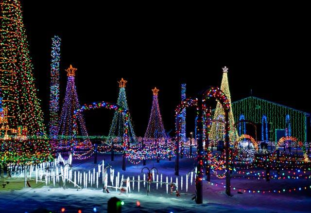 Christmas Lights Displays Ohio