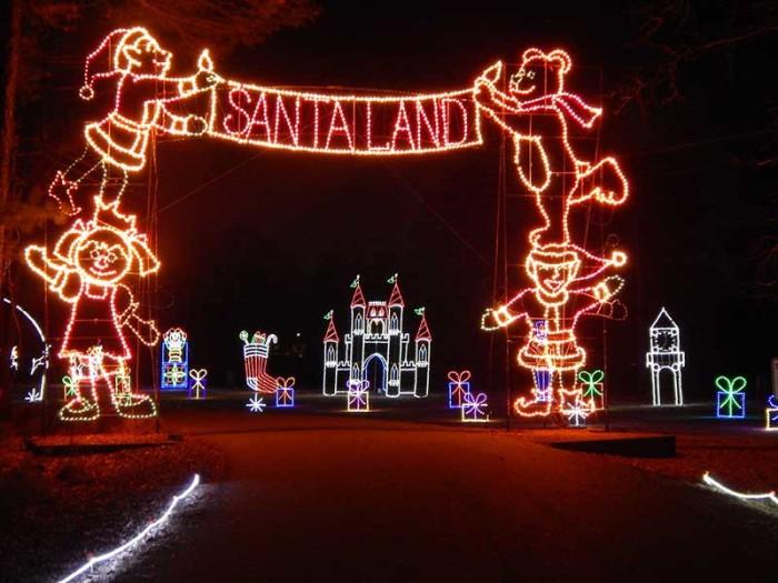Led Christmas Light Arches