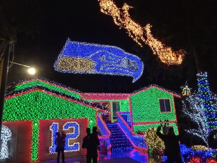 Flashing Christmas Lights