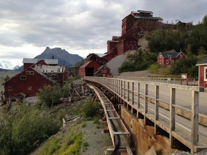 2. Alaska: Kennecott Copper Mining Camp, Valdez-Cordova
