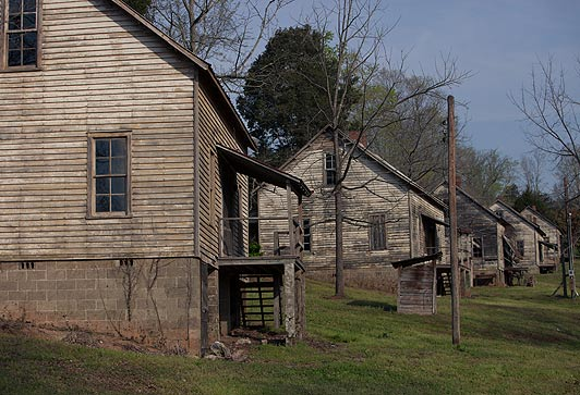 3. Henry River Mill Village and Triple Falls, The Hunger Games