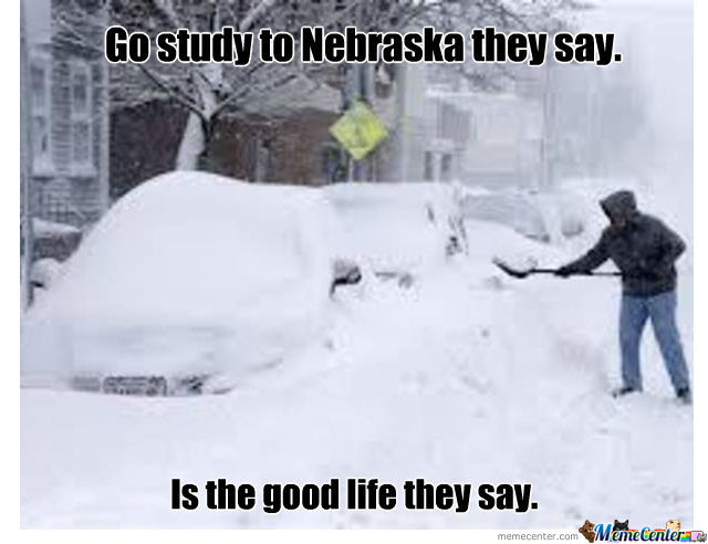 Funny Winter Snow Storm