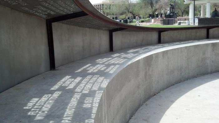 4. Arizona has at least four memorials dedicated to 9/11.