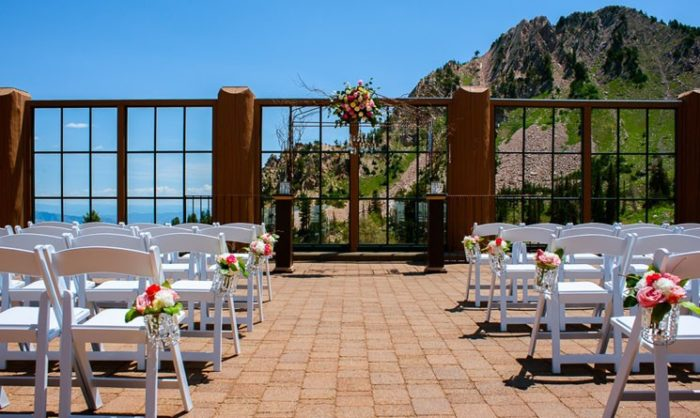 The 10 Most Beautiful Wedding Venues In Utah