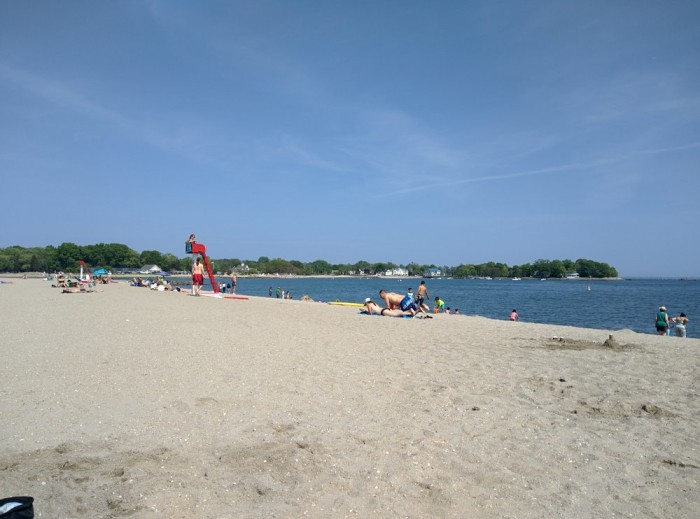 12. Cove Island Park in Stamford is an activity dreamland. Besides the beach, you can skate, bike, kayak or even play volleyball. So many options!