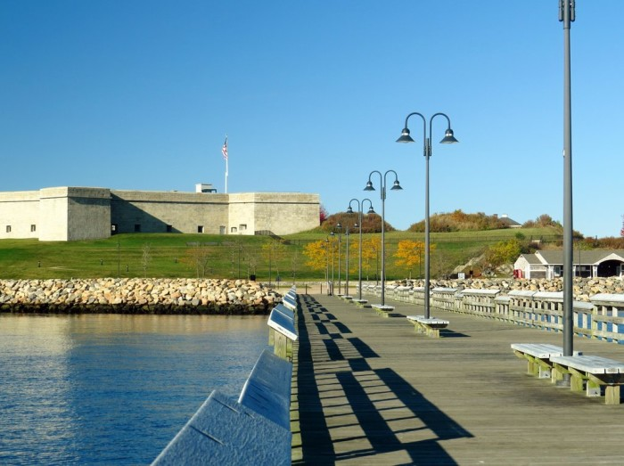 7. Fort Trumbull State Park (New London)