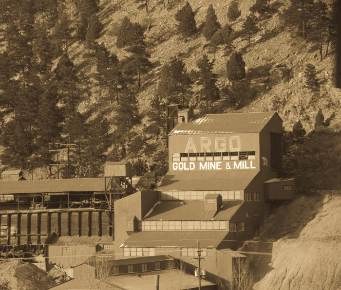 10. Argo Gold Mine and Mill, 1912