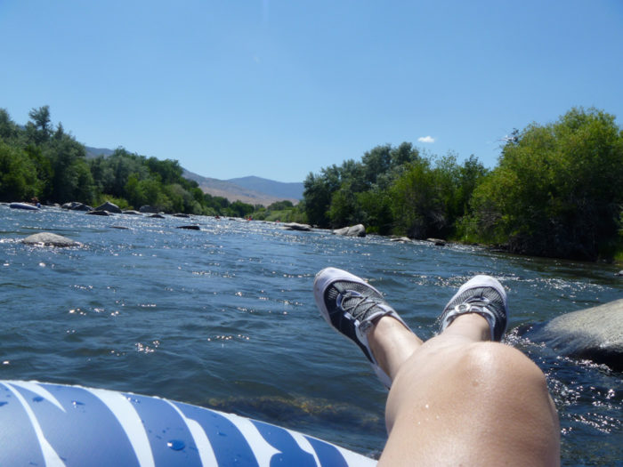 6. Go tubing on the Truckee.