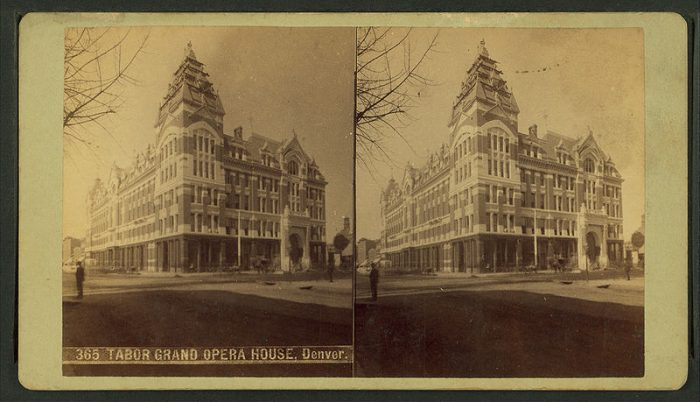 12. Tabor Grand Opera House, between 1865 and 1900