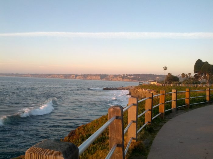15. Perfect walking paths along the water. Man I love the sound of ocean waves!