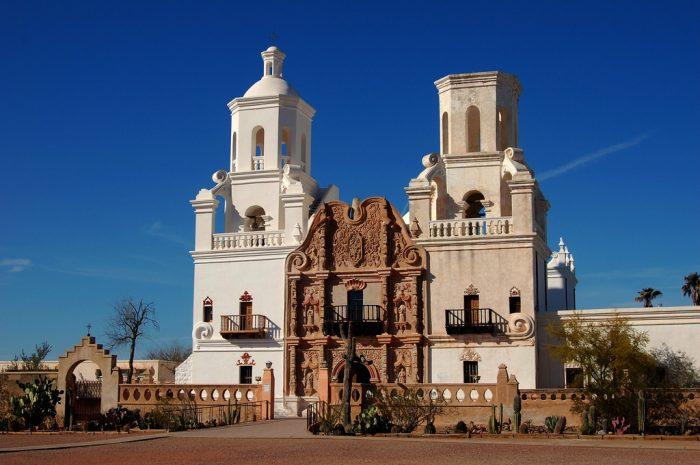 15. San Xavier del Bac, Tucson