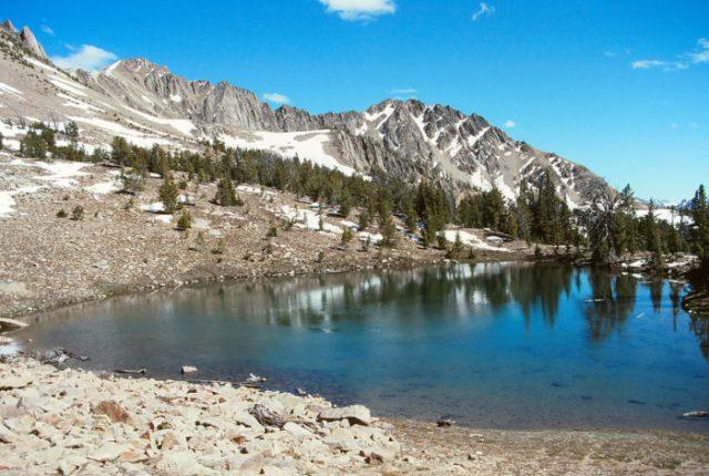 1. Fourth of July Lake