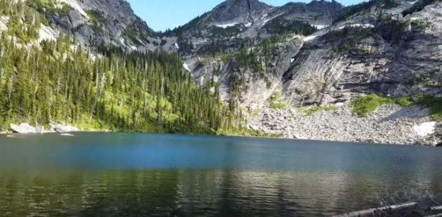 1. Hunt Lake, Priest Lake