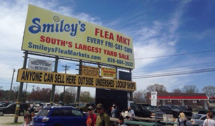 Smileys Is The Best Flea Market In North Carolina