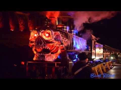 The Haunted Ghost Train At Tweetsie Railroad Is Extra Spooky