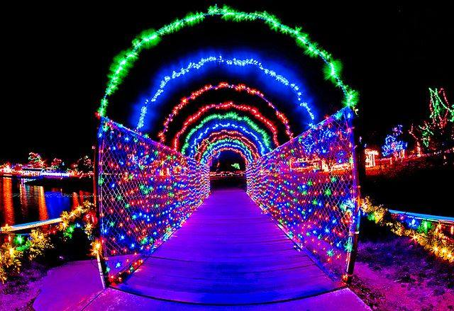 Yukon Christmas Lights
