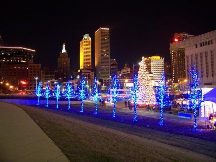 Tulsa Christmas Lights