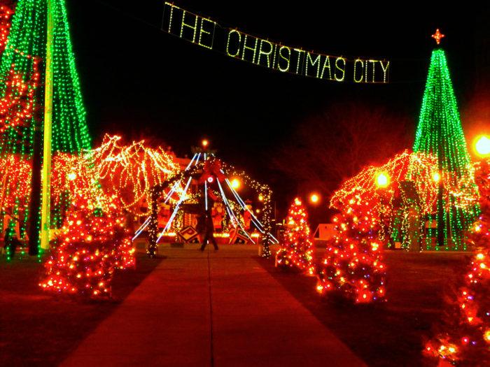 Lasalette Shrine Lights
