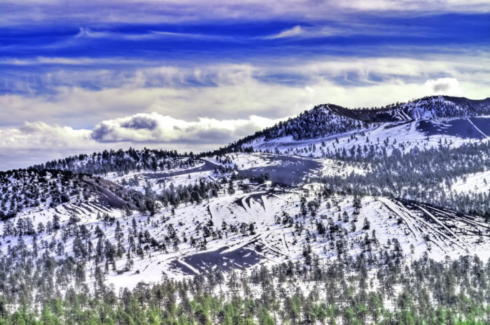 2. And Sunset Crater? Those hills could be perfect for an afternoon of sledding.