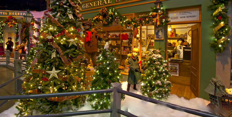 The Christmas Village In Massachusetts That Becomes Even