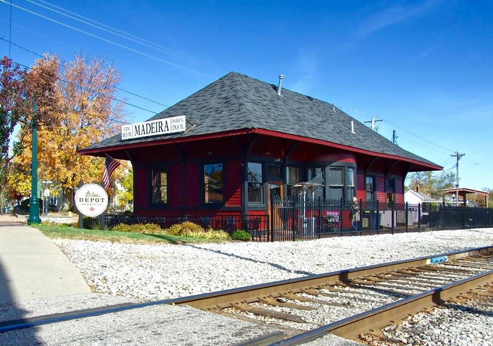Depot Barbecue Is A Train Station Barbecue Restaurant In