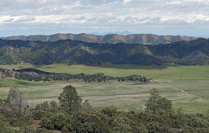 Butte Mountain Range California