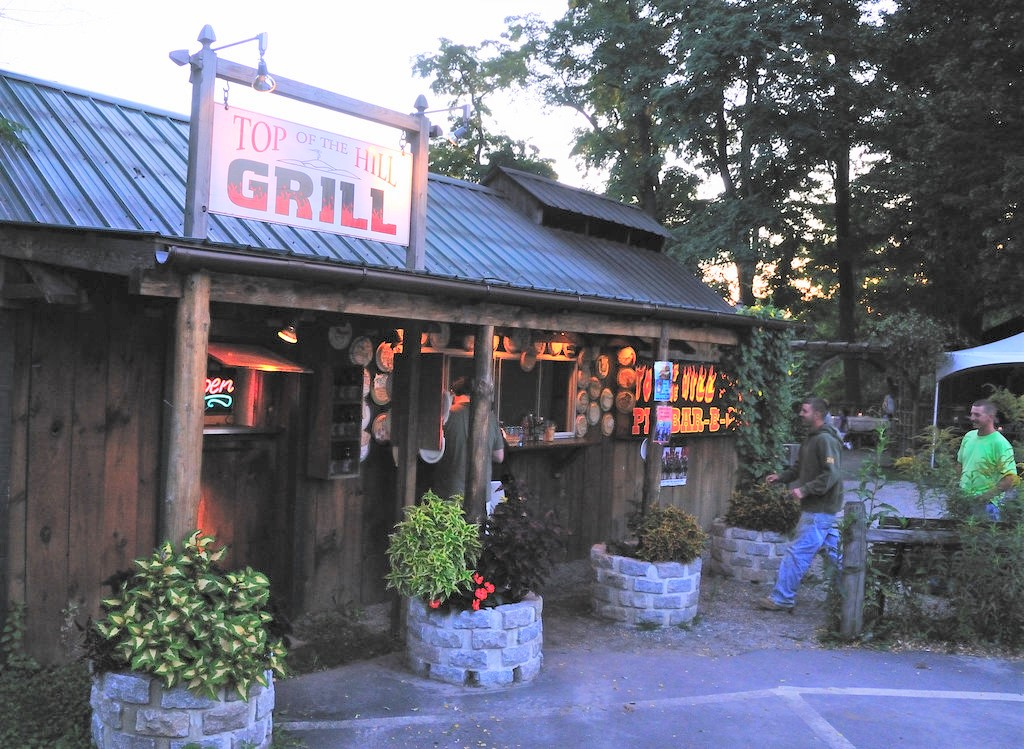 Top Of The Hill Grill A Vermont Bbq Shack Serving The