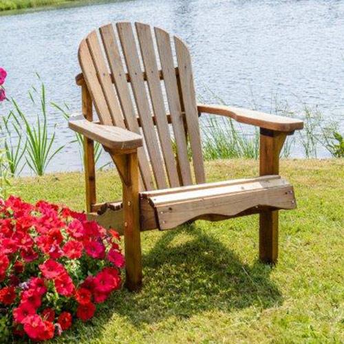 fauteuil de jardin sylvestre en pin