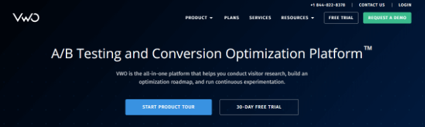 visual website optimizer has a multivariate testing tool that helps you see how visitors are interacting with your page