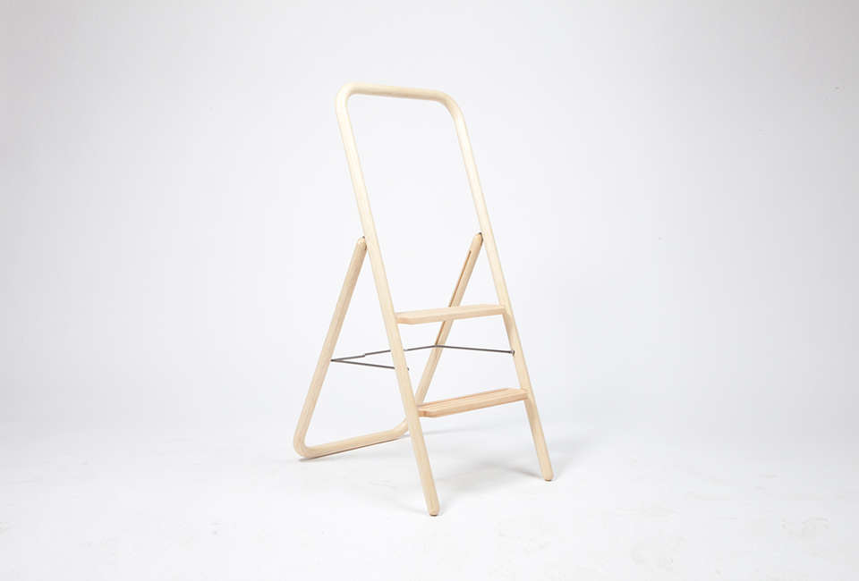 10 Easy Pieces Slim Step Ladders For Small Spaces The Organized Home