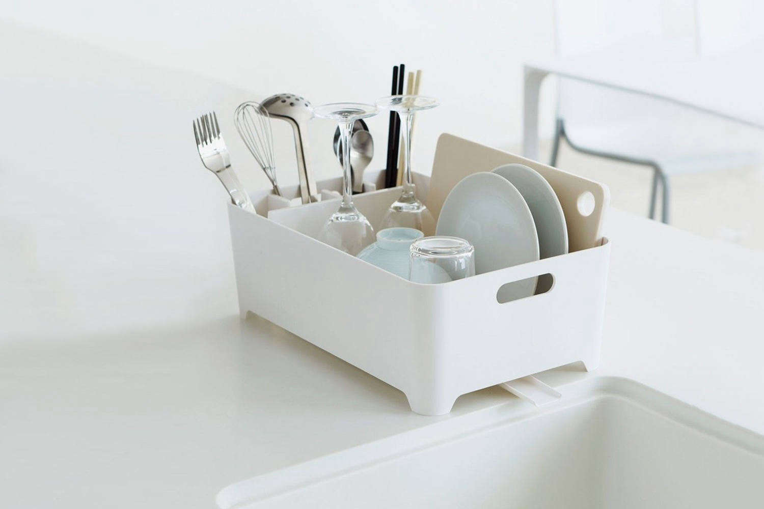 10 Easy Pieces Space Saving Dish Rack For Small Kitchens