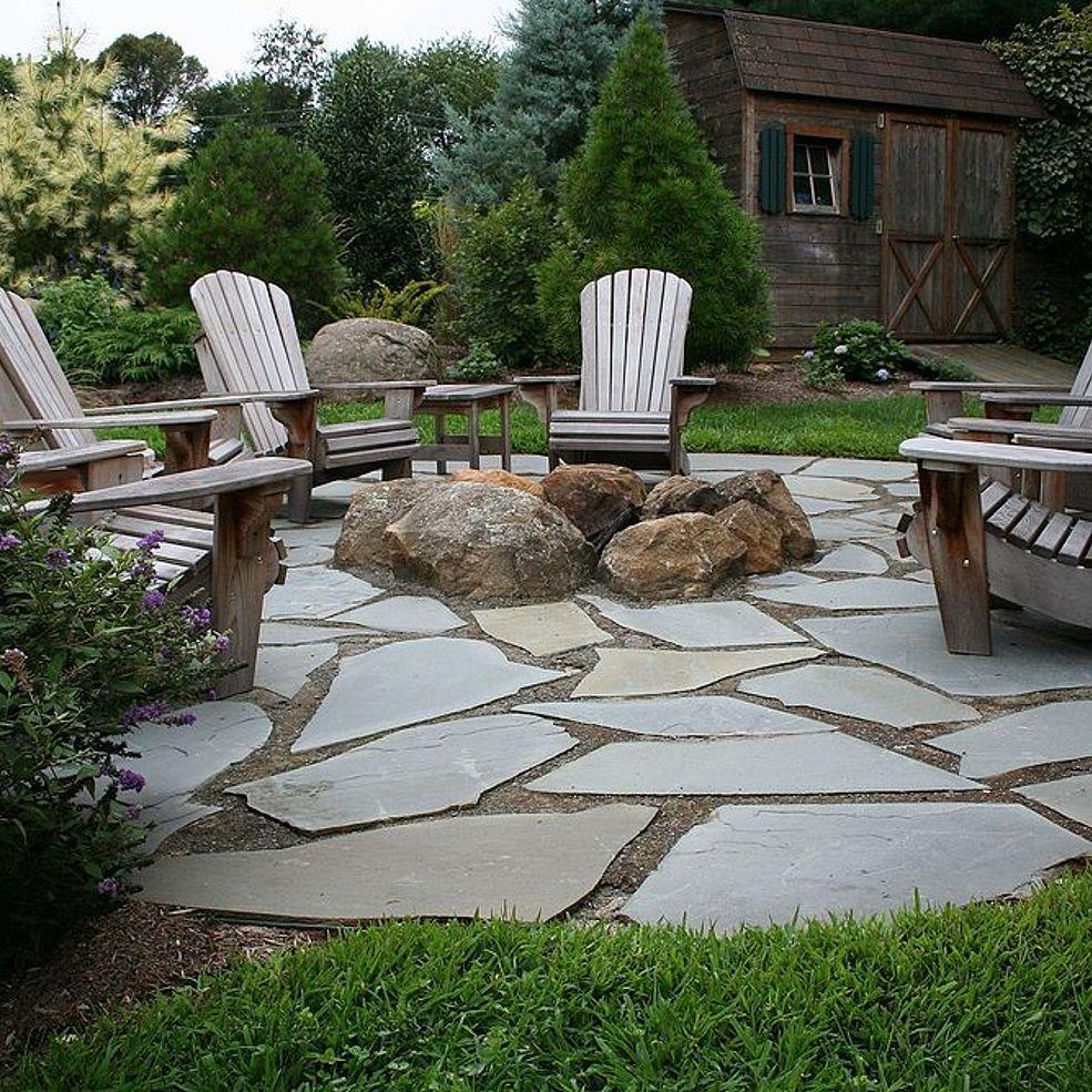 14 amazing flagstone patio design ideas