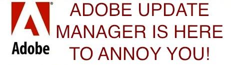 остановить менеджер обновлений Adobe Mac