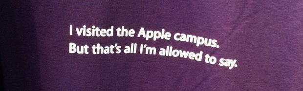 Я посетил футболку Apple Campus