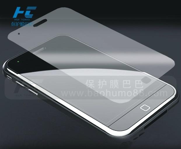 iPhone 5 по версии китайского производителя защитной пленки