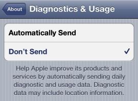 Отключить Carrier IQ на iPhone