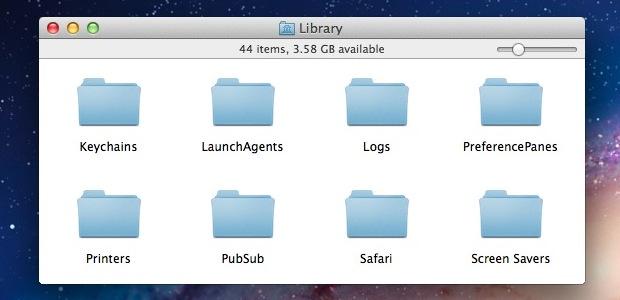 Скрыть панель инструментов в OS X Lion для минимальных окон Mac Finder