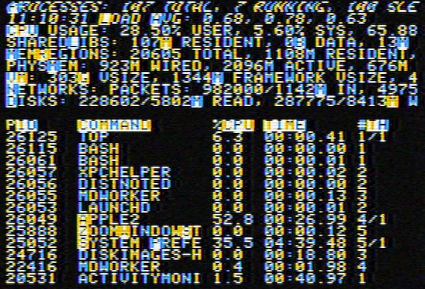 Заставка Apple II