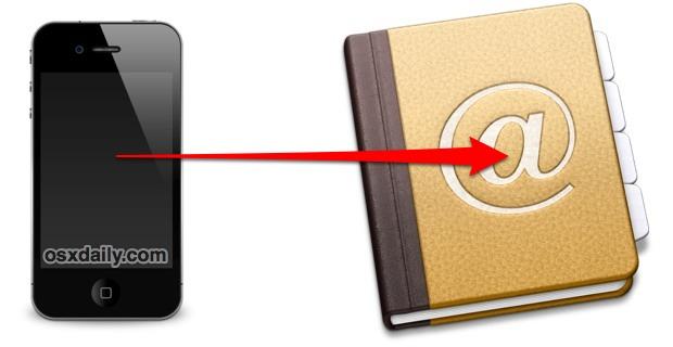 Резервное копирование контактов iPhone без iTunes