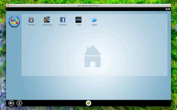 BlueStacks запускает приложения для Android в Mac OS X