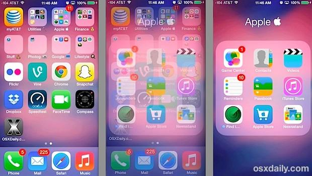 iOS7效果图