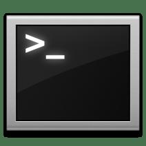 Terminal icon in OS X