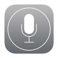 Логотип Siri после iOS 7