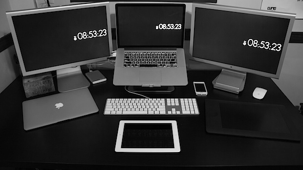 Настройка Mac видеоредактора и коммуникаций студент