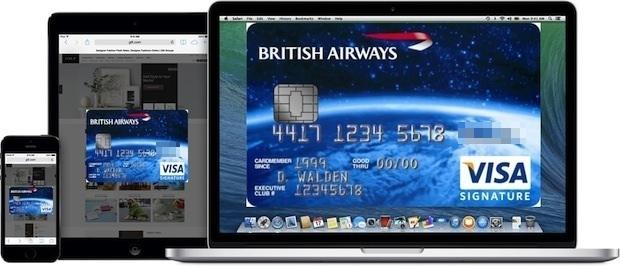 Связка ключей iCloud синхронизирует данные кредитной карты на любом компьютере Mac и iOS