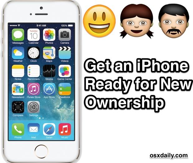 Как подготовить iPhone к новому владельцу