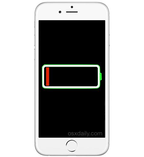 айфон с дохлой батареей?  Все равно найди