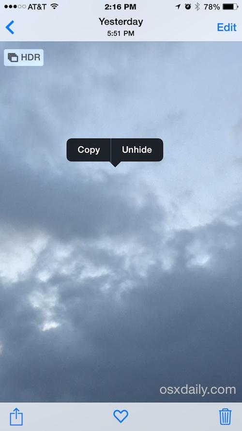 Показать фотографии в iOS