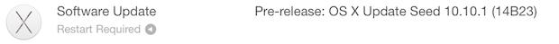 OS X 10-10-1 бета-версия 2